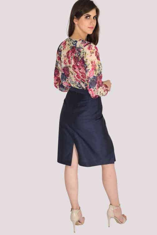 floral Georgette top