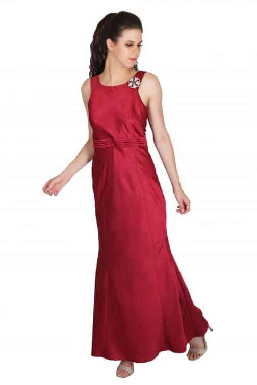 luxurious fishtail gown